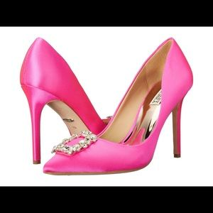 Badgley Mischka CHER PINK PUMPS SOLD OUT!!